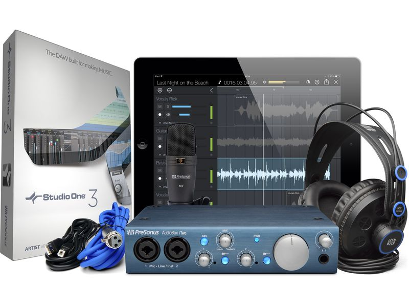 Купить PreSonus AudioBox iTwo Studio Комплект