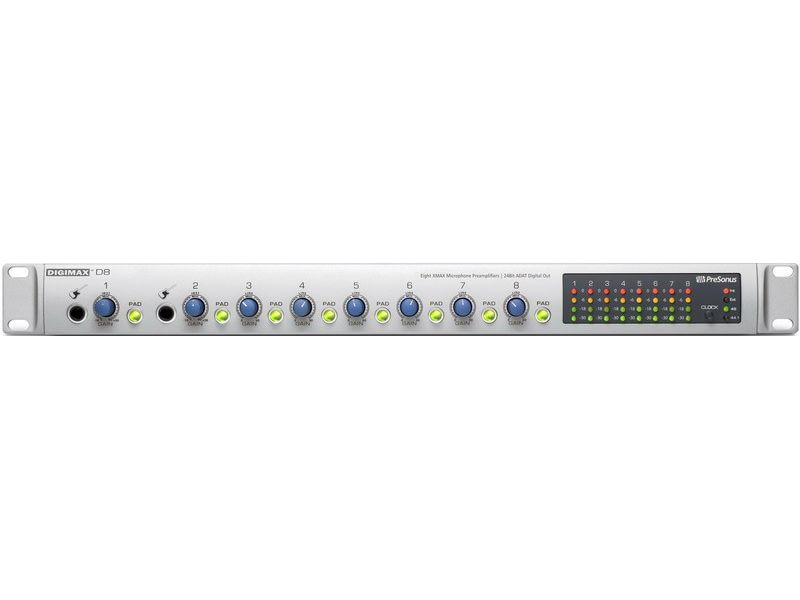 Купить PreSonus DigiMax D8 Предусилитель микрофонный