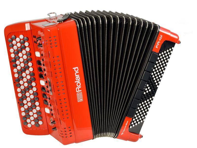 Купить Roland FR-4XB RD Цифровой баян