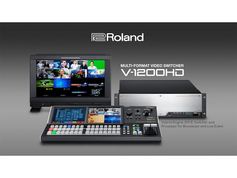 Купить Roland V-1200HD Видеомикшер мультиформатный