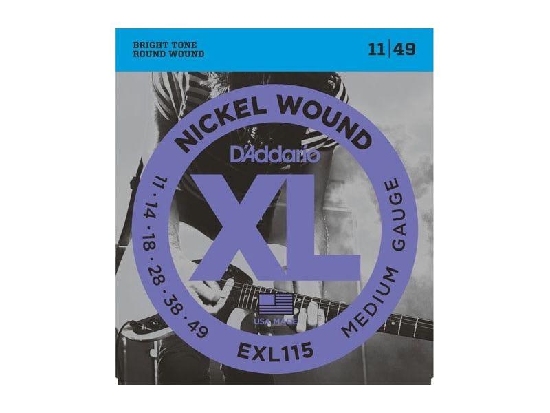 Купить D'addario EXL-115 Струны для электрогитары