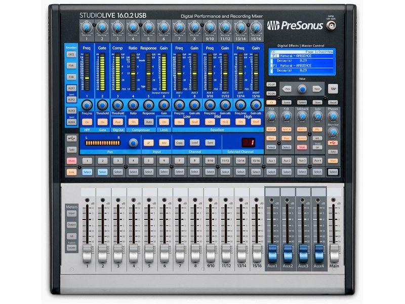 Купить PreSonus StudioLive 16.0.2 USB Цифровой микшерный пульт