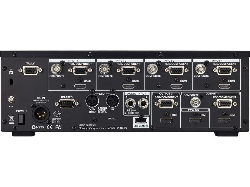 Купить Roland V-40HD Видеомикшер