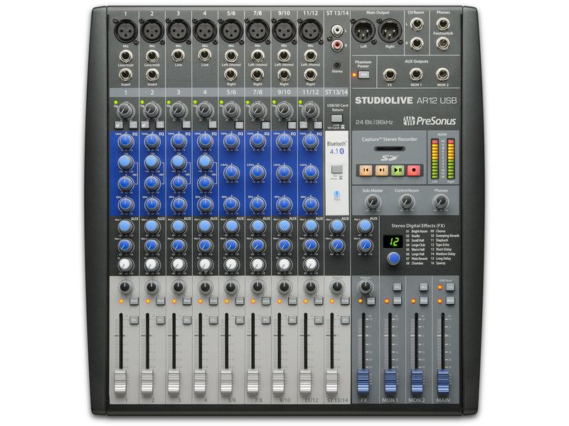 Купить PreSonus StudioLive AR12 USB Микшерный пульт