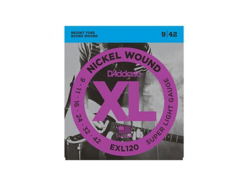 Купить D'addario EXL-120 Струны для электрогитары