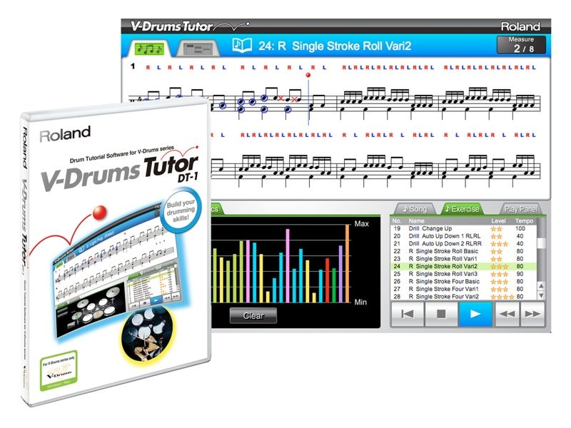 Купить Roland DT-1:V-Drums Tutor