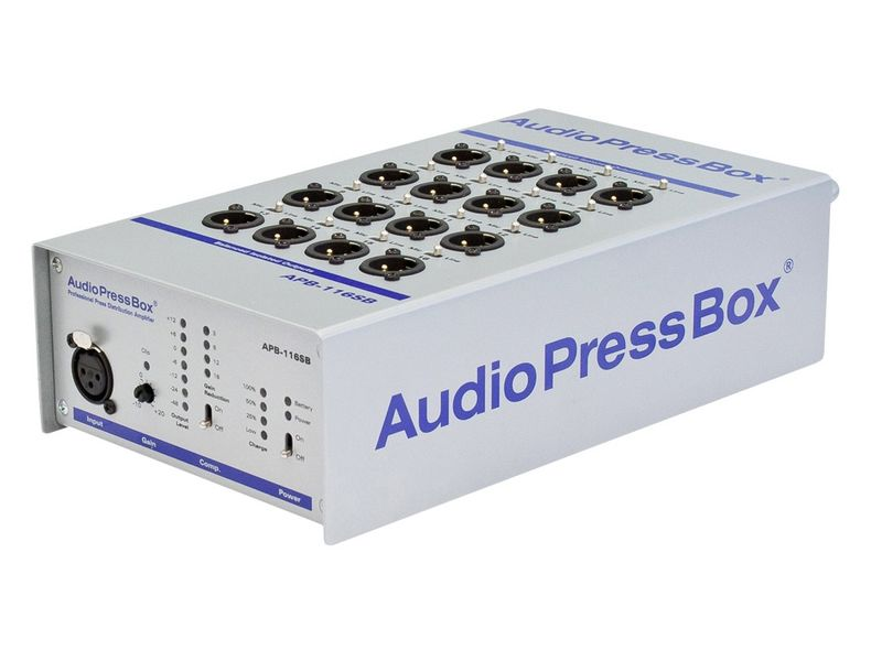 Купить Audio Press Box APB-116 SB