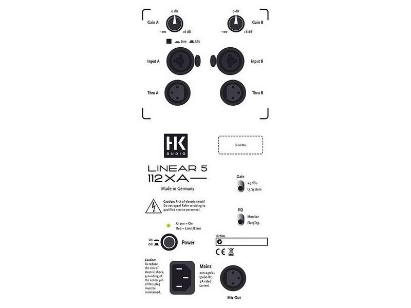 Купить HK AUDIO Linear 5 112XA Активная акустическая система