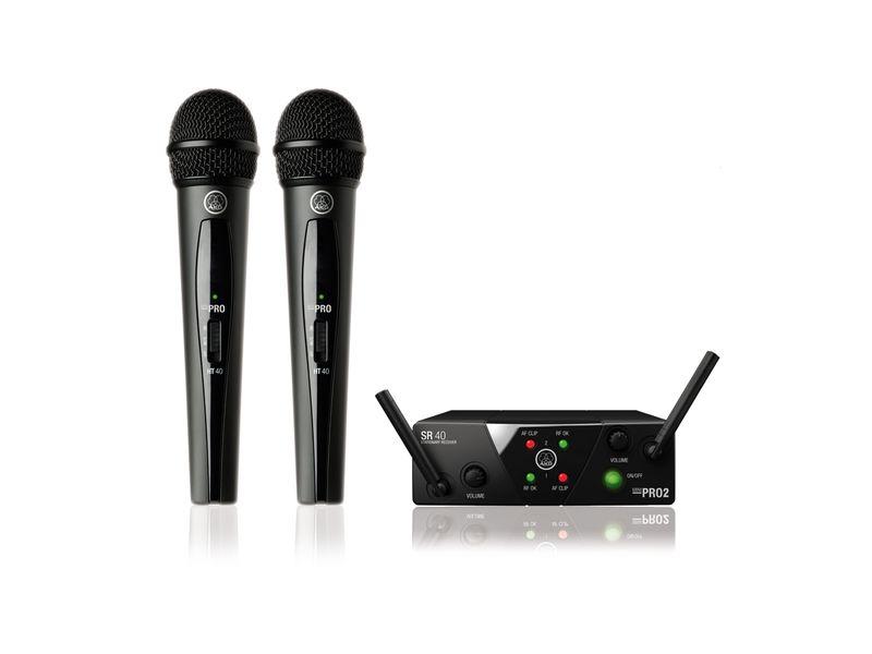 Купить AKG WMS40 Mini2 Vocal set Радиосистема с двумя ручными передатчиками ISM2/3