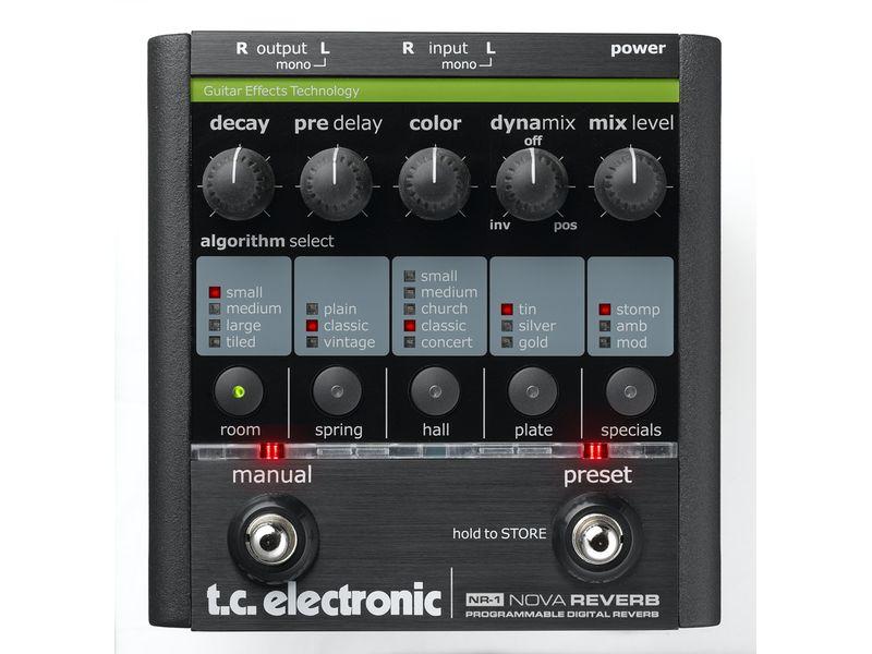 Купить TC Electronic Nova Reverb Педаль гитарная