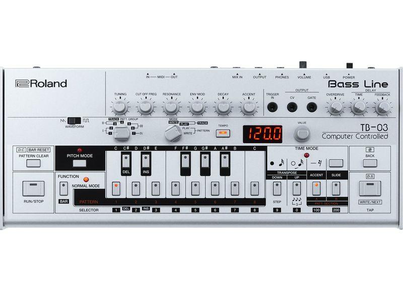 Купить Roland TB-3 Бас-синтезатор AIRA