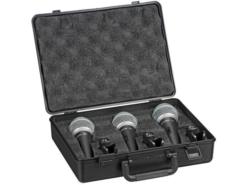 Купить Samson Q6CL3P Микрофоны вокальные в комплекте (3шт.)