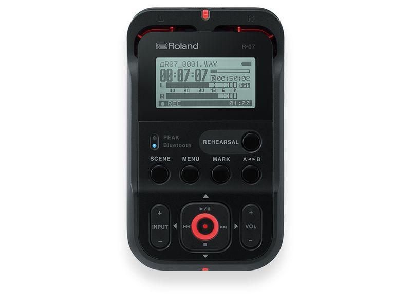 Купить Roland R-07 Портативный стереофонический рекордер с Bluetooth