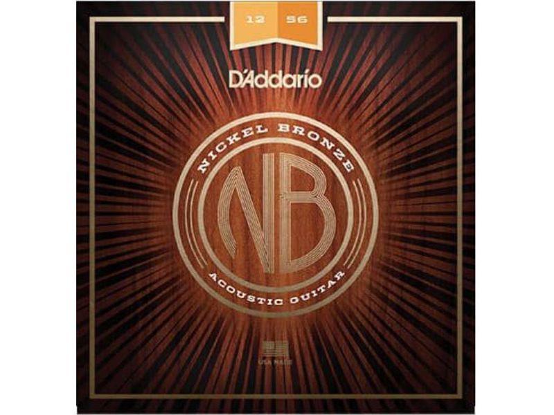Купить D'addario NB1256 Струны для акустической гитары (12-56)