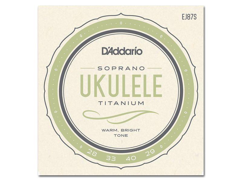 Купить D'addario EJ-87S Струны для укулеле
