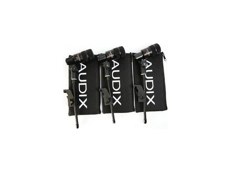 Купить AUDIX D2 Trio Комплект инструментальных микрофонов