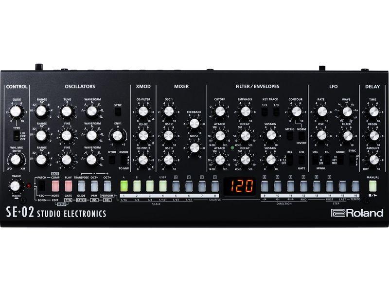 Купить Roland SE-02 Синтезаторный модуль Boutique