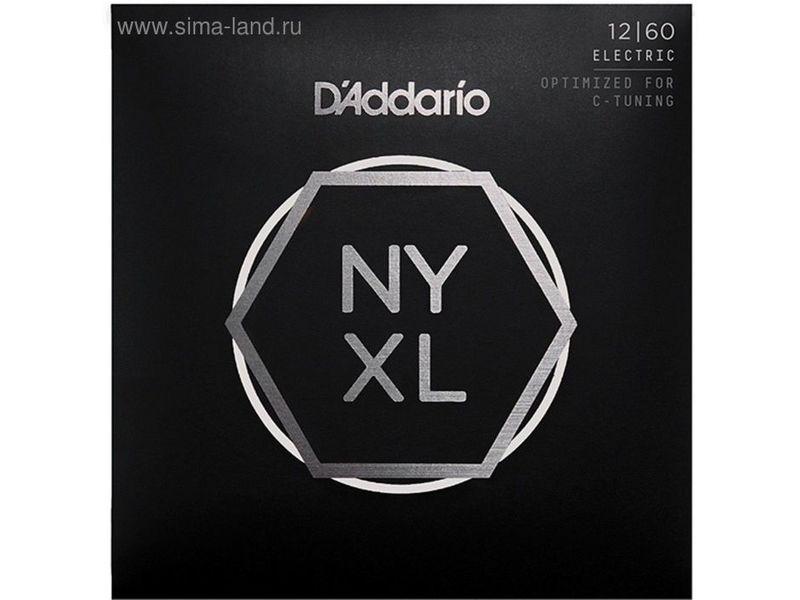 Купить D'addario NYXL1260 Струны для электрогитары