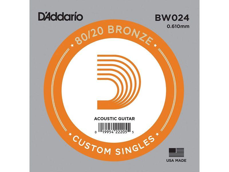 Купить D'addario BW024 Струна для акустической гитары