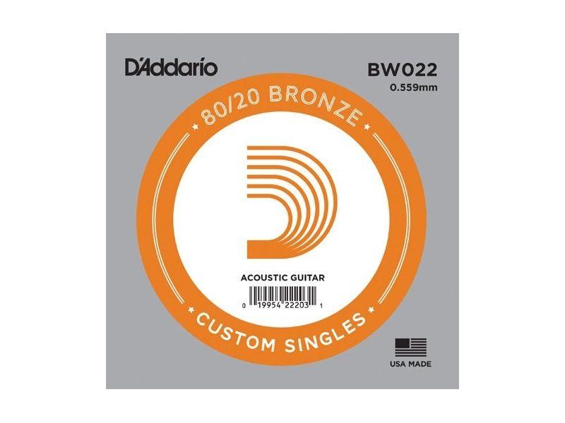 Купить D'addario BW022 Струна для акустической гитары