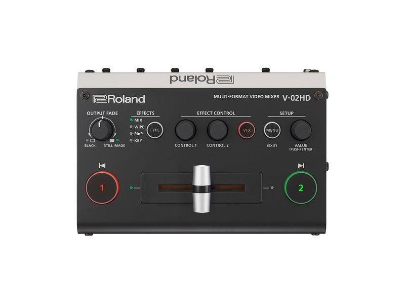 Купить Roland V-02HD Видеомикшер мультиформатный с аудиообработкой