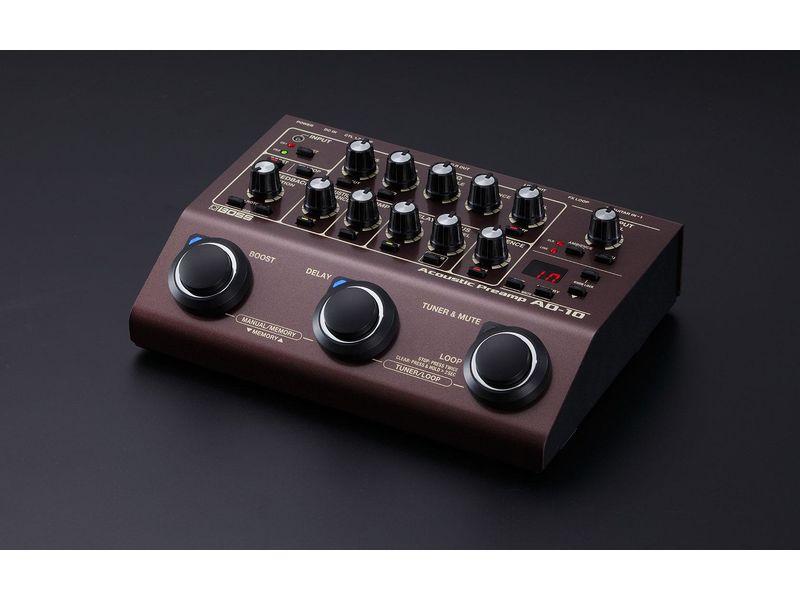 Купить BOSS AD-10 Процессор эффектов акустический