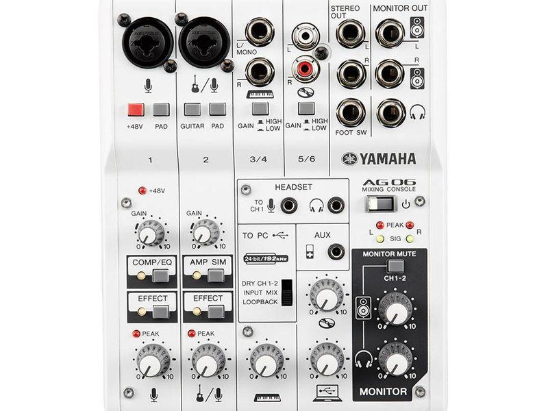 Купить Yamaha AG06 Пульт микшерный