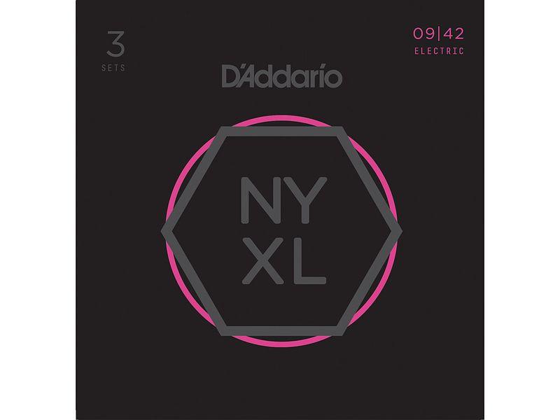 Струны для электрогитары D'addario NYXL0942