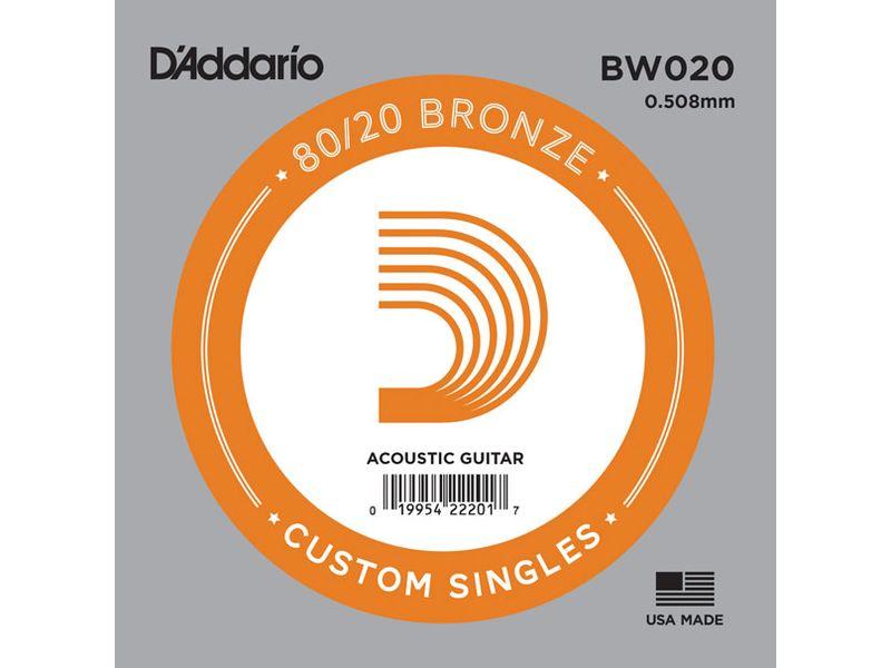 Купить D'addario BW020 Струна для акустической гитары