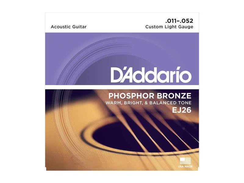 Купить D'addario EJ-26 Струны для акустической гитары