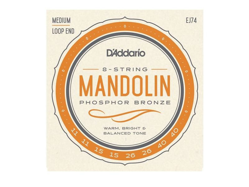 Купить D'addario EJ-74 Струны для мандолины