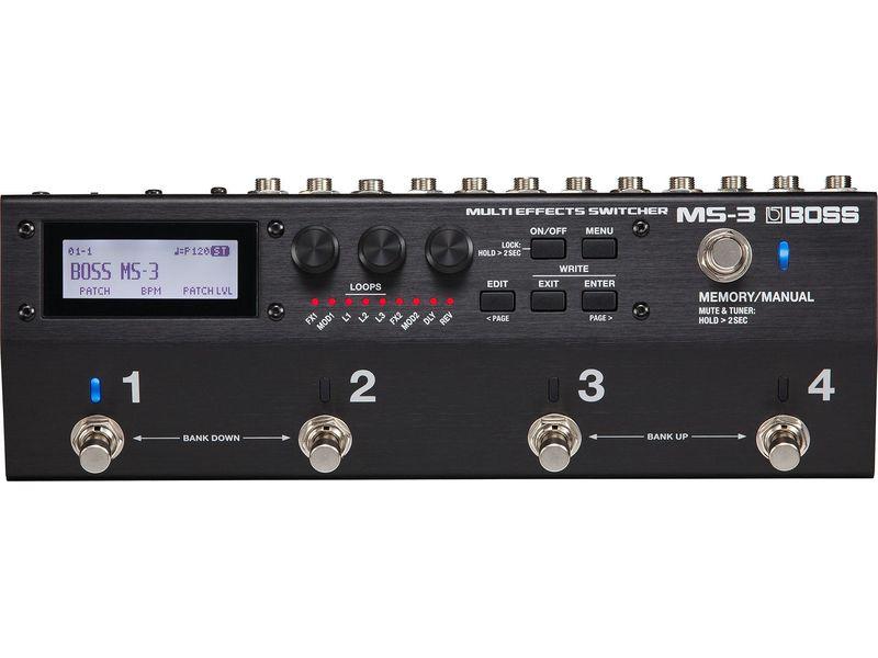 Купить BOSS MS-3 Переключатель эффектов