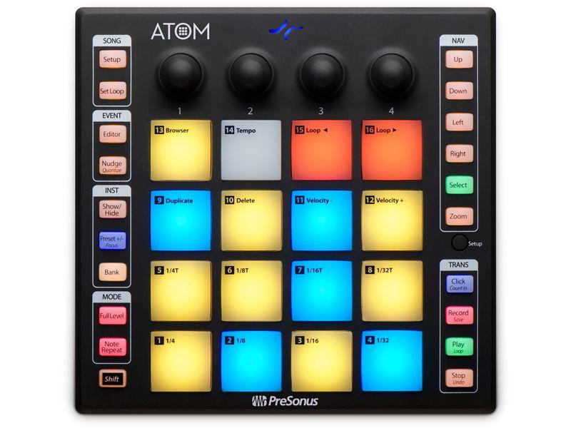 Купить PreSonus ATOM Контроллер студийный