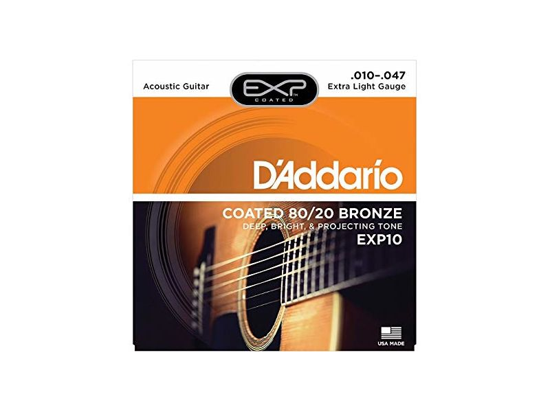 Купить D'addario EXP-10 Струны для акустической гитары