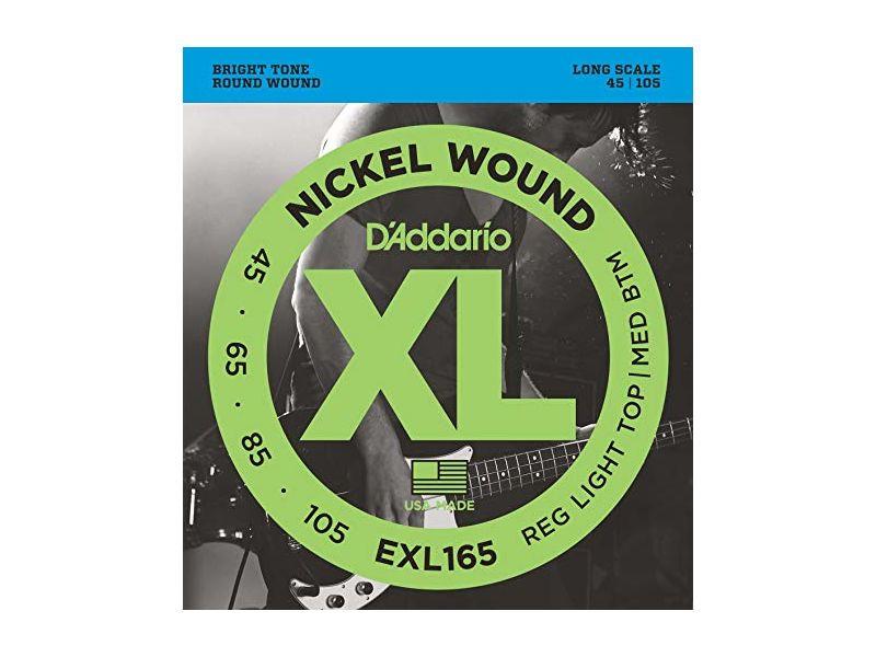 Купить D'addario EXL-165 Струны для бас-гитары