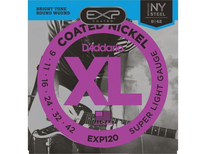 Купить D'addario EXP-120 Струны для электрогитары