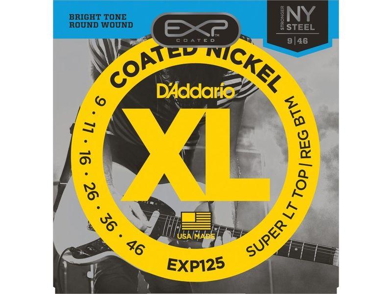 Купить D'addario EXP-125 Струны для электрогитары