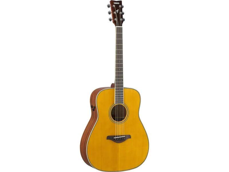 Купить Yamaha FG-TA VT Гитара электроакустическая TransAcoustic