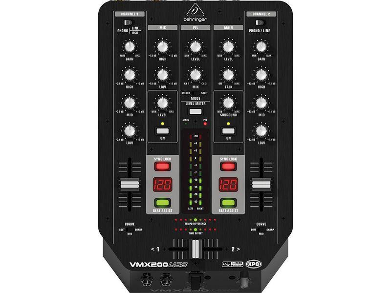 Купить Behringer VMX 200USB PRO DJ микшерный пульт