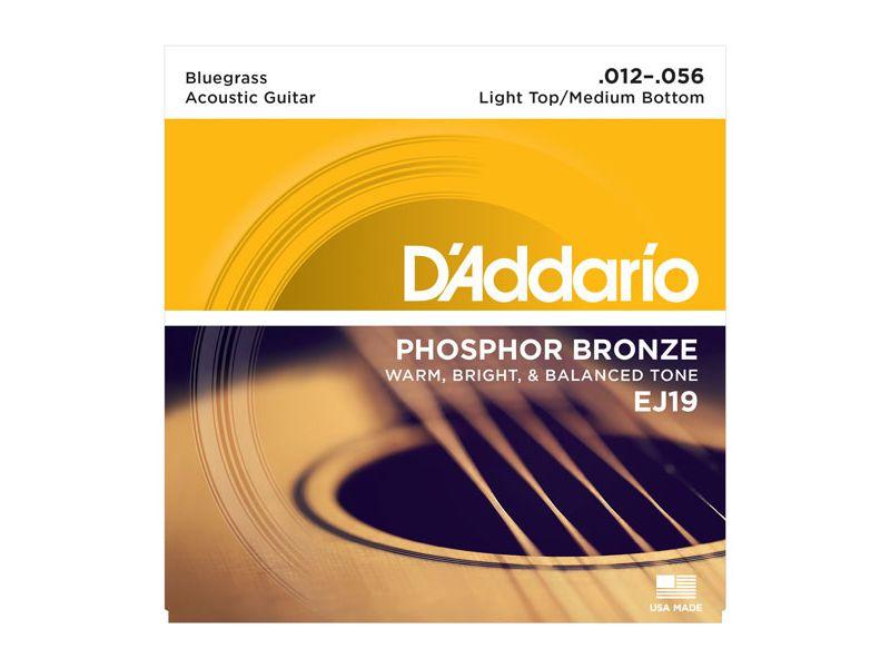 Купить D'addario EJ-19 Струны для акустической гитары