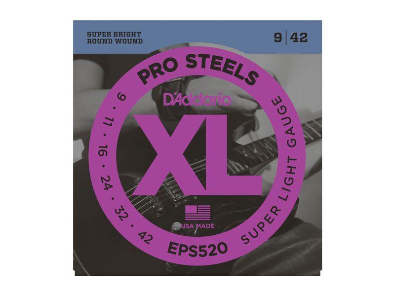 Купить D'addario EPS-520 Струны для электрогитары (09-42)