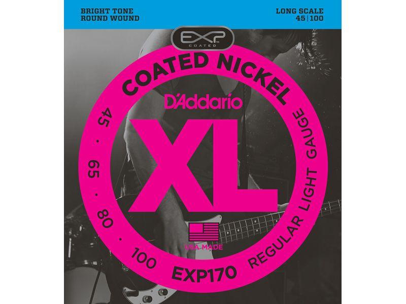 Купить D'addario EXP-170 Струны для бас-гитары