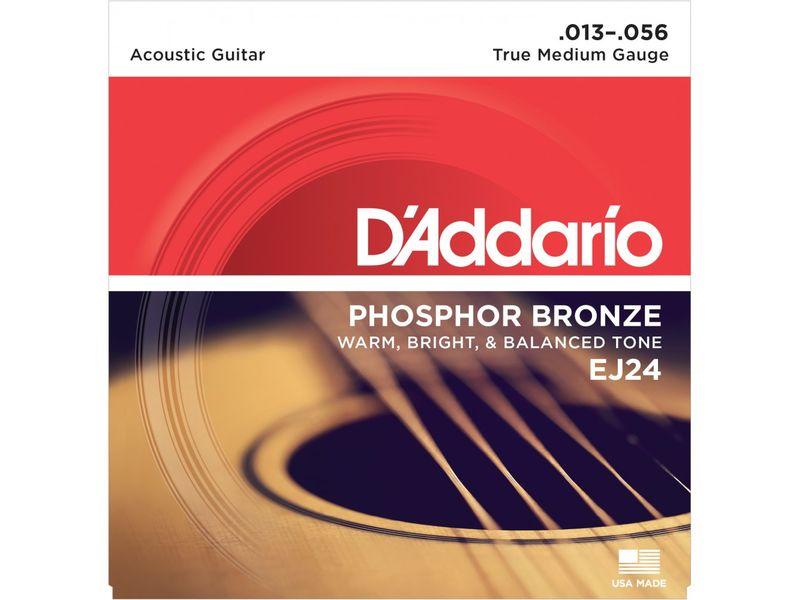 Купить D'addario EJ-24 Струны для акустической гитары