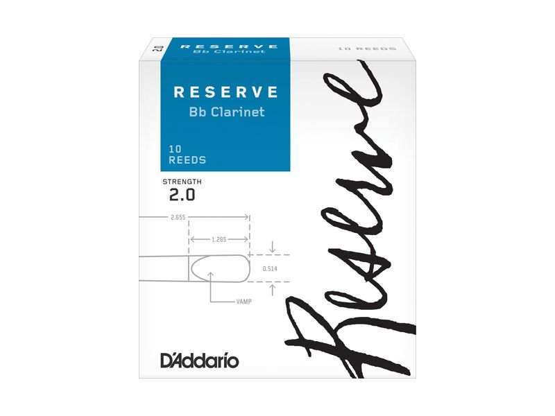 Купить D'addario DCR1020 Трости для кларнета Bb (цена за шт)