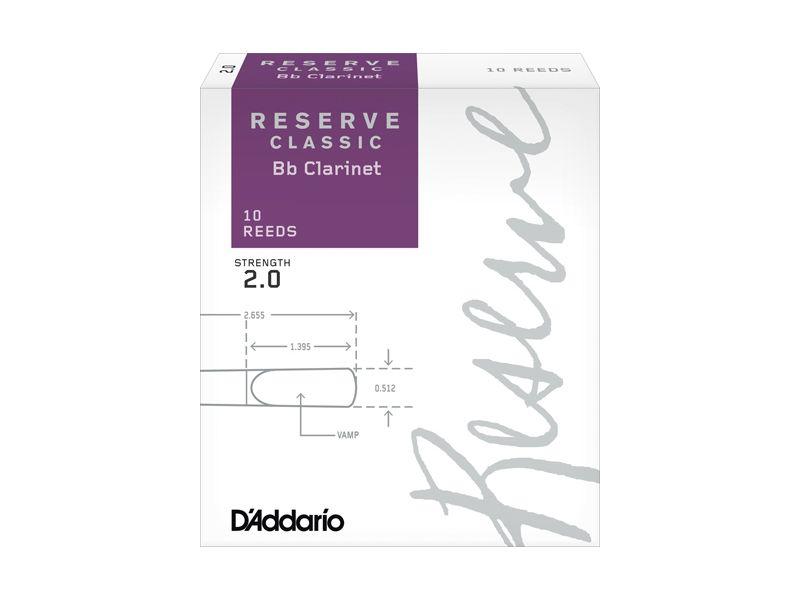 Купить D'addario DCT1020 Трости для кларнета Bb (цена за шт)