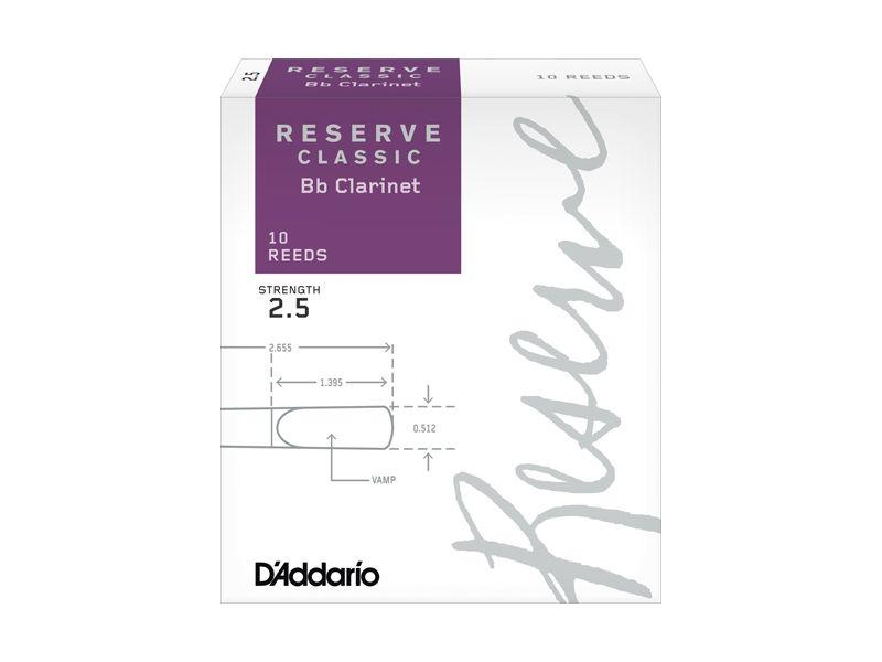 Купить D'addario DCT1025 Трости для кларнета Bb (цена за шт)
