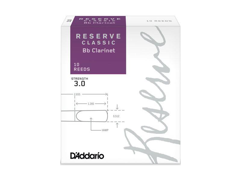 Купить D'addario DCT1030 Трости для кларнета Bb (цена за шт)