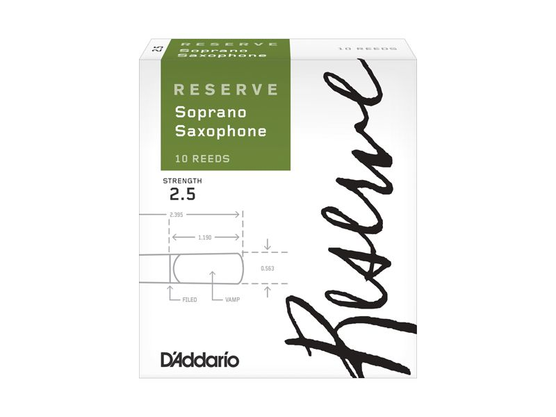 Купить D'addario DIR1025 Трости для сопрано саксофона (цена за шт)