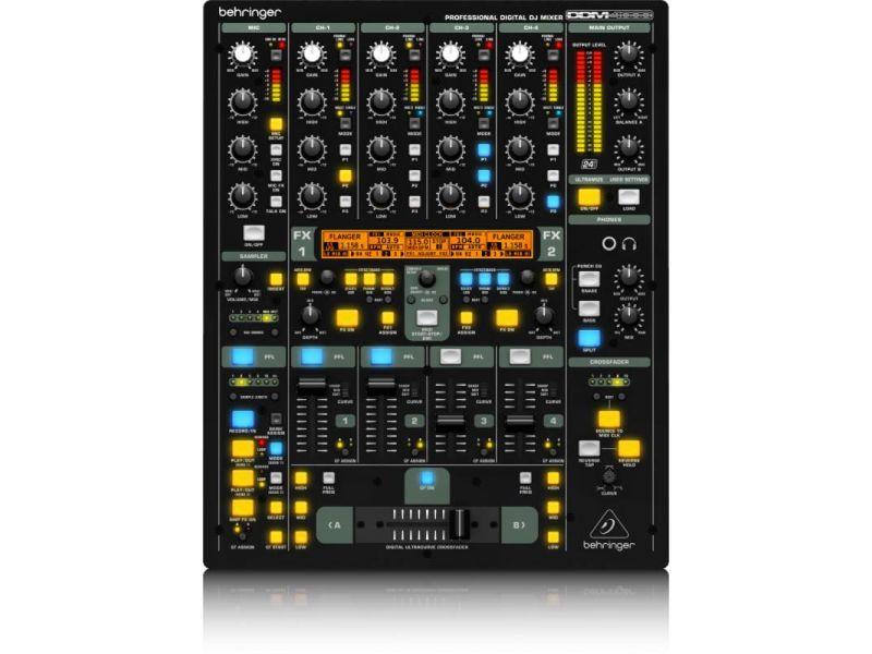Купить Behringer DDM 4000  Цифровой DJ микшерный пульт