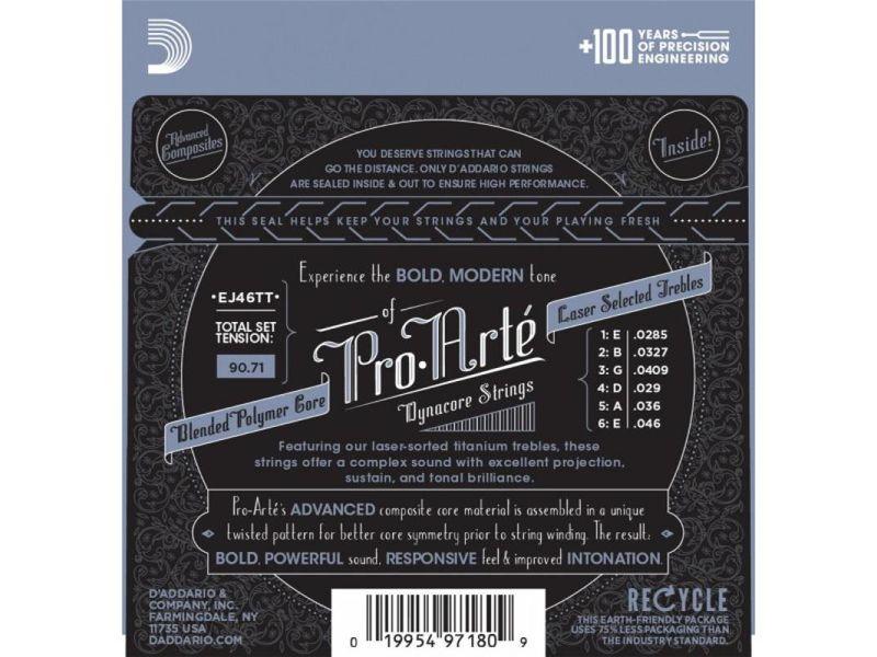 Купить D'addario EJ-46TT Струны для классической гитары